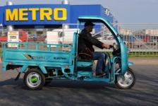 Трициклы Геркулес в торговой сети Метро