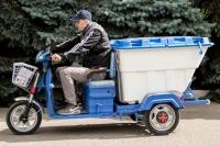 33_Электрический грузовой мотоцикл Львов