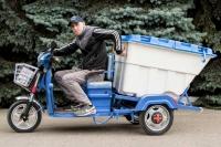 34_Электрический грузовой мотоцикл Днепр