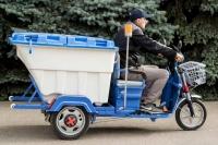 35_Электрический грузовой мотоцикл Одесса