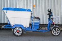 9_Электрический трехколесный грузовой мотоцикл