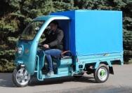 17 электрический мотогрузовик купить