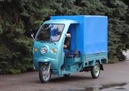 21 электрический мотогрузовик Днепр