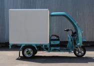 11 электрический трехколесный грузовик Харьков
