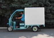 12 электрический трехколесный грузовик Киев