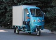13 электрический трехколесный грузовик Днепр
