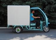 14 электрический трехколесный грузовик Львов