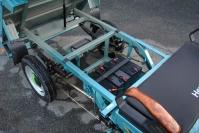 15 электрический мотогрузовик самосвал