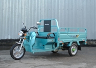 4 электрический мотогрузовик