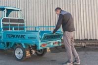 28 Трехколесный грузовик Львов