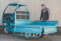 30 Трехколесный грузовик электрический