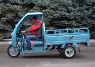 33 Трехколесный грузовик самосвал