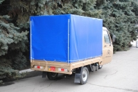 10 трехколесный грузовик с будкой