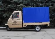 6 трехколесный грузовик с кабиной
