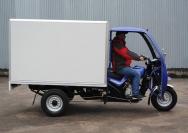 19 трехколесный грузовик с будкой