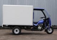 9 грузовой мотоцикл с будкой